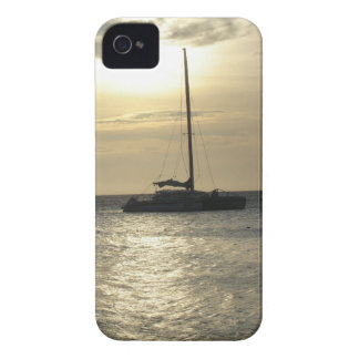 Tropical Fishing Boats iPhone 4 Cases