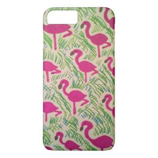 Tropical Flamingo iPhone Case