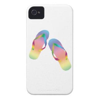 Tropical Flip Flops 1 iPhone 4 Cases