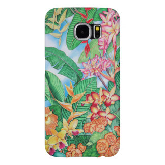 Tropical Flora Samsung Galaxy S6 Cases