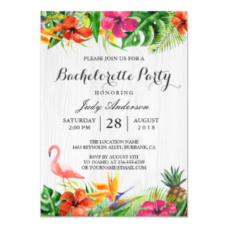 floral party invitations