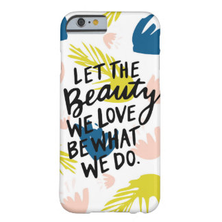 Tropical Floral Inspirational Phone Case