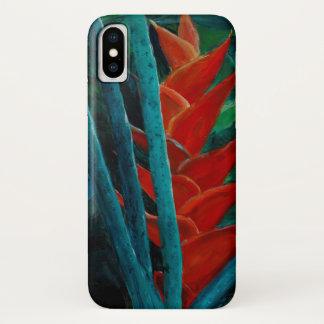 Tropical floral phone case