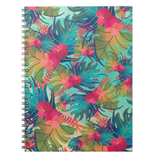 Tropical Floral Watercolor | Notebook