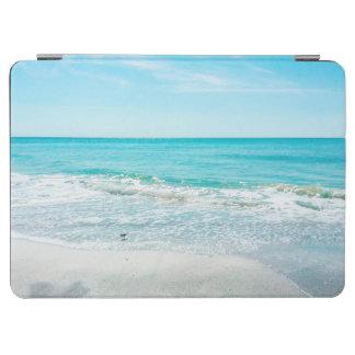 Tropical Florida Beach Sand Ocean Waves Sandpiper iPad Air Cover