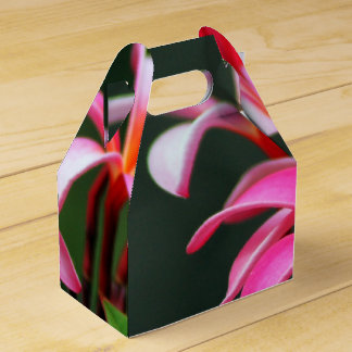 Tropical flower gift boxes favour box