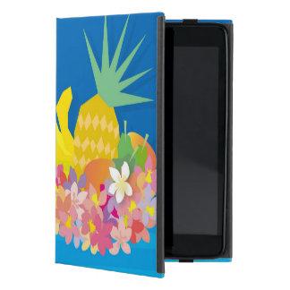 Tropical Flower Waves iPad Mini Case
