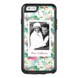Tropical Flowers And Birds   Add Your Photo & Name OtterBox iPhone 6/6s Case