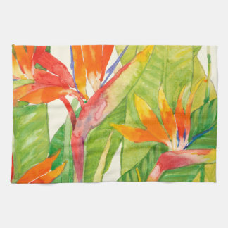 Tropical Flowers | Bird of Paradise Towels