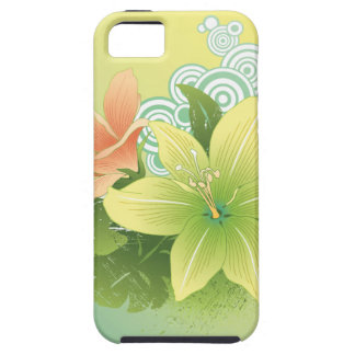 Tropical Flowers iPhone 5 Covers