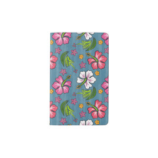 Tropical Flowers Moleskine Notebook Cover
