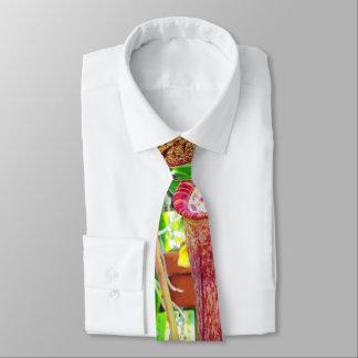 Tropical Flowers Necktie