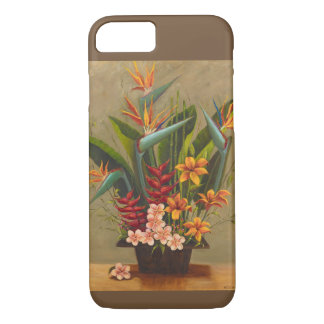 Tropical Flowers Phone Cover