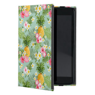 Tropical Flowers & Pineapples iPad Mini Cover