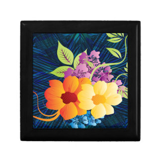 Tropical Flowers & Vines Gift Box
