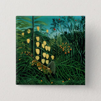 Tropical Forest 15 Cm Square Badge