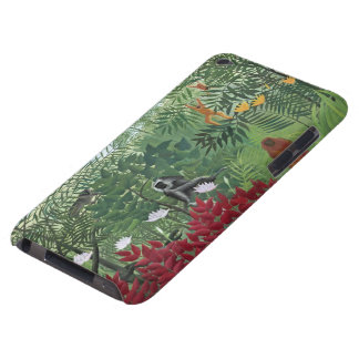 Tropical Forest with Monkeys, 1910 (oil on canvas) Case-Mate iPod Touch Case