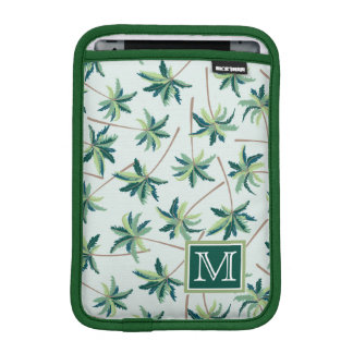 Tropical Foxtail Palm | Add Your Initial iPad Mini Sleeve