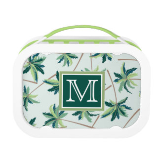 Tropical Foxtail Palm | Add Your Initial Lunch Box