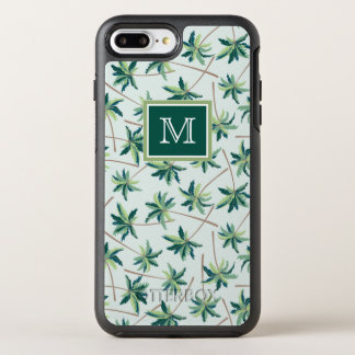 Tropical Foxtail Palm | Add Your Initial OtterBox Symmetry iPhone 8 Plus/7 Plus Case