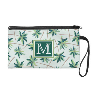 Tropical Foxtail Palm | Add Your Initial Wristlets
