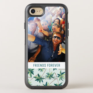 Tropical Foxtail Palm | Add Your Photo & Text OtterBox Symmetry iPhone 8/7 Case