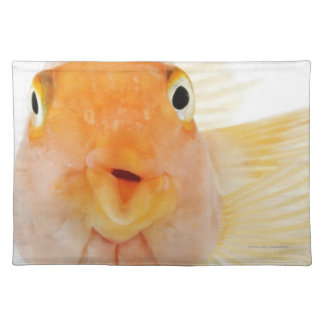 Tropical freshwater fish placemat