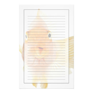 Tropical freshwater fish stationery