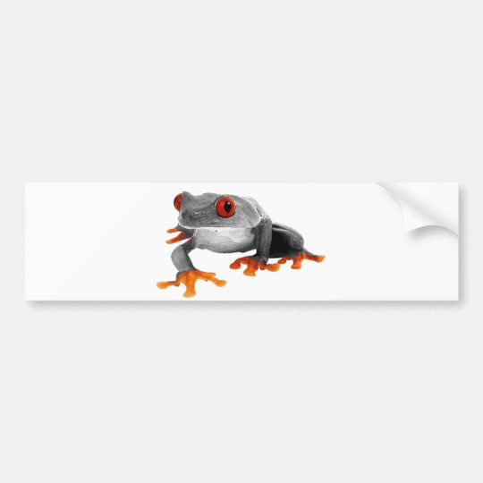 Tropical Frog Bumper Sticker..! Bumper Sticker