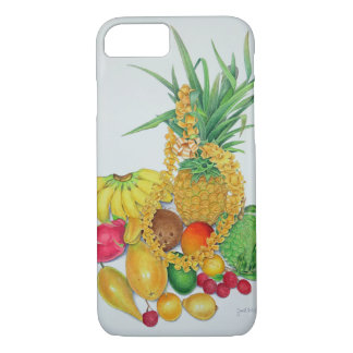 Tropical Fruit and Lei iPhone 8/7 Case