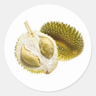 Tropical fruit - Durian Round Sticker