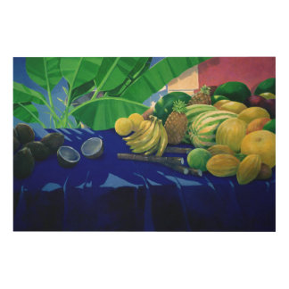 Tropical Fruit Wood Wall Art