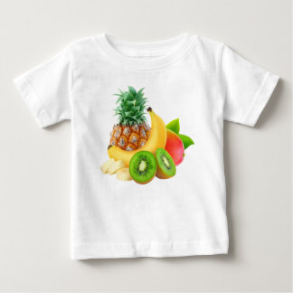 Tropical fruits baby T-Shirt