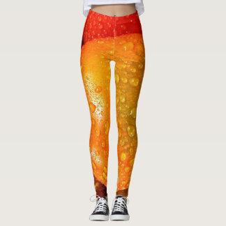 Tropical fruits leggings