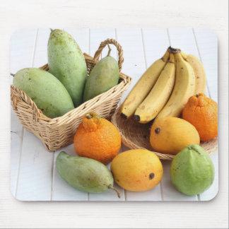 Tropical fruits mouse mat