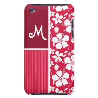 Tropical Fuschia Hibiscus iPod Touch Covers
