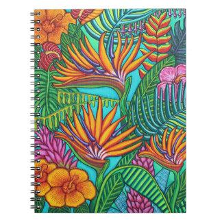 Tropical Gems Note Book