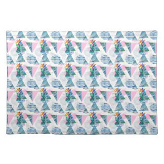 Tropical Geometric Pattern Placemat