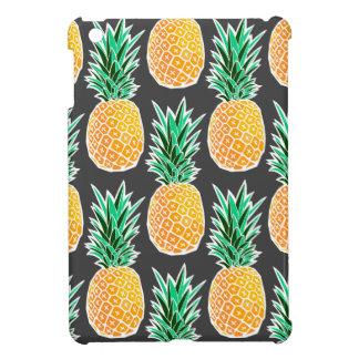Tropical Geometric Pineapple Pattern iPad Mini Cover