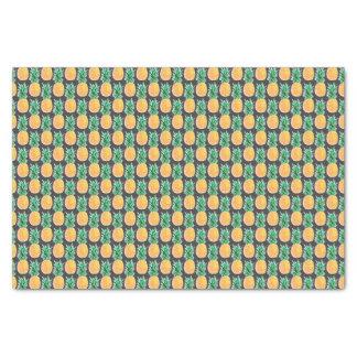 Tropical Geometric Pineapple Tissue Paper