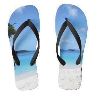 Tropical Getaway Flip Flops