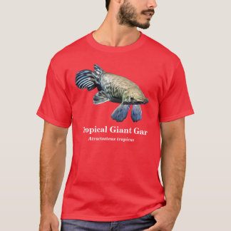 Tropical Giant Gar and Atractosteus tropicus T-Shirt