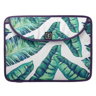 Tropical Glam flap sleeve MacBook Pro Sleeves