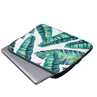 Tropical Glam laptop medium Laptop Sleeve