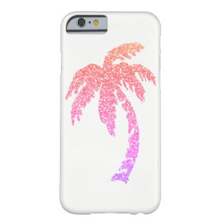 Tropical Glam Pink Palm Tree iPhone 6/6s Case