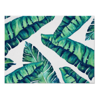 Tropical Glam Poster 16x12