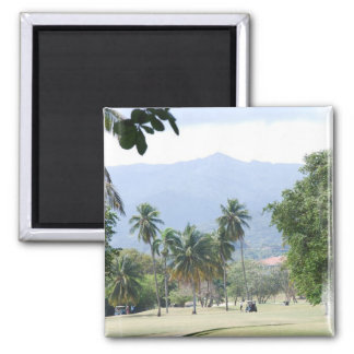 Tropical Golf Course Magnet Fridge Magnet