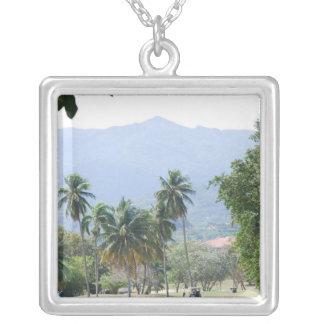Tropical Golf Course Necklace