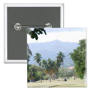 Tropical Golf Course Pin