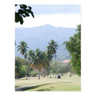 Tropical Golf Course Postcards